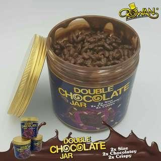 DOUBLE CHOCOLATE JAR