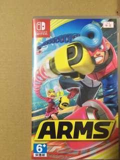 🚚 Nintendo Switch Arms 遊戲片