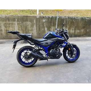 MINT CONDITION MT-03 YAMAHA FOR SALE