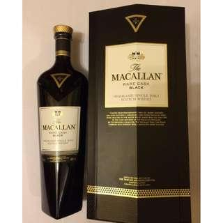 Macallan Rare Cask Black 700ml 麥卡倫 蘇格蘭 威士忌 收藏 品味 送禮