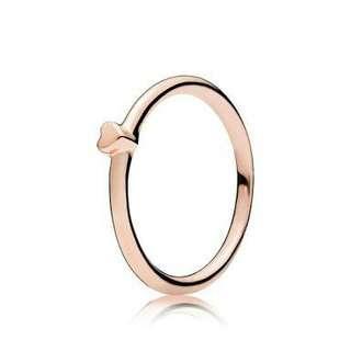 Pandora Rose Gold Puzzle Ring