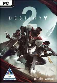 Destiny 2 Accounts PC version