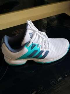 Adidas barricade tennis shoes for women