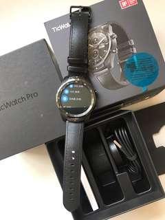 99%New Ticwatch Pro Bluetooth IP68 Wear os by Google Black