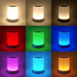 LED Bluetooth Speaker with Color Changing Light