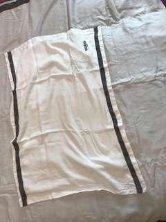Balmain single white bedsheet
