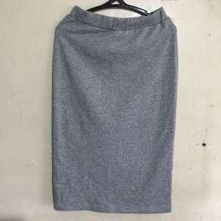 High waisted Pencil cut skirt