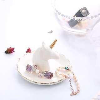 Unicorn Ceramic Jewellery Dish
