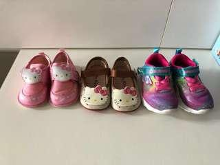 鞋 Skechers hello kitty