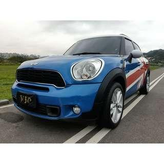 2012 MINI Countryman Cooper S 2.0柴油 跑3萬多