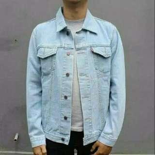 Jaket Jeans Bio Pudar Premium