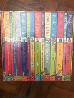 Roald Dahl 15pc book collection (sealed)