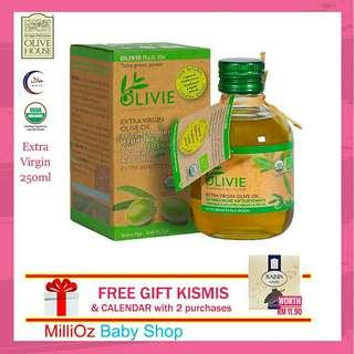 Olive House Olivie Plus 30x Minyak Zaitun Extra Virgin Olive