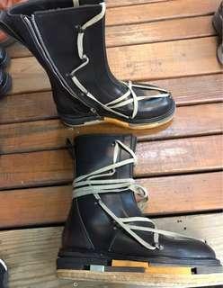 🚚 正皮長靴