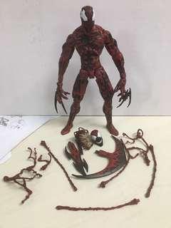 Marvel select Carnage 血蜘蛛 屠殺 蜘蛛俠 毒液amazing Spider-Man venom