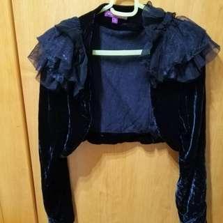 🚚 【sigmanet家庭百貨】九成新新光三越進口專櫃MOISELLE黑色小外套