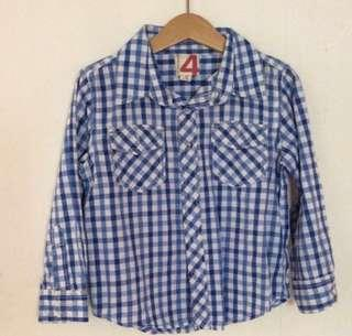 Checkered Shirt (cotton on kids) size 4 and 6