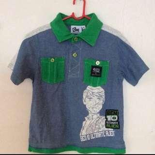 Boys Shirt (Ben 20) size 6