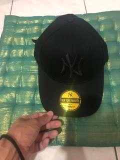 New York Yankees black topi original