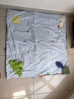 IKEA floor bed mat , tummy time mat