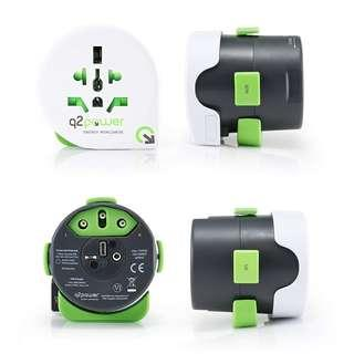 🚚 International Travel Adapter, Works in Over 120 Countries