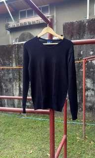 Main street black sweatshirt (L)