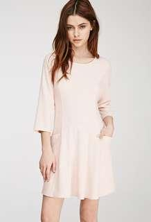 F21 baby pink dress