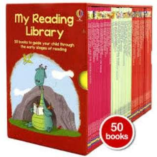 Usborne Second Library 50 Storybooks