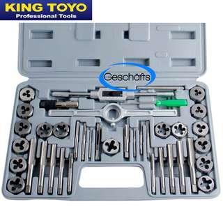 King Toyo Tap and Die 40Pcs