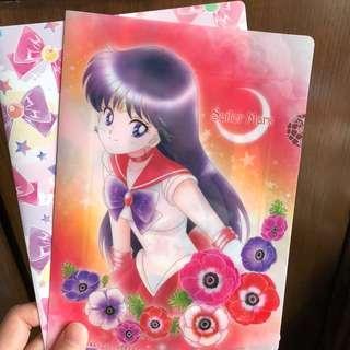 美少女戰士 火野麗 A5 file 扭蛋