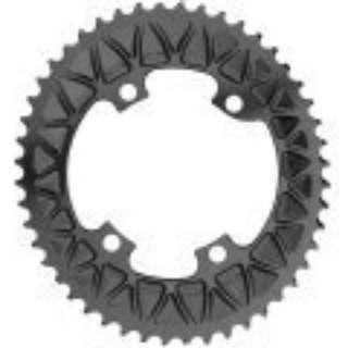 absoluteBLACK Premium Sub-Compact Oval 110/4 BCD Chainring (30T & 46T)
