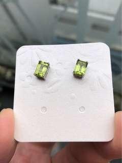 橄欖石耳環