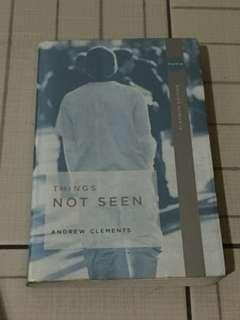 Things Not Seen by Andrew Clements