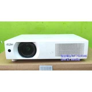 🚚 會議簡報 家庭劇院 SANYO PLC-XU106 液晶投影機 4500流明 聖發二手電腦