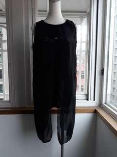 🚚 造型假兩件式顯瘦上衣