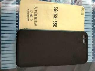 Case hitam iphone 5