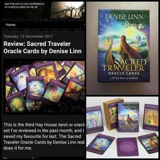 Sacred Traveler Oracle/Tarot Cards