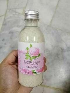 #APR10 Lovely Lace Bath Salt (200g)