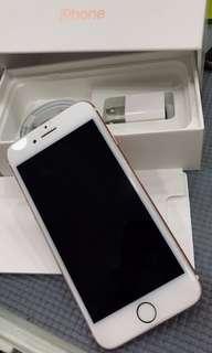 🚚 iPhone 7 玫瑰金 128G