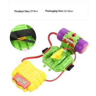 Mainan Pistol Air Pergelangan Tangan Wrist Water Gun 4M Green