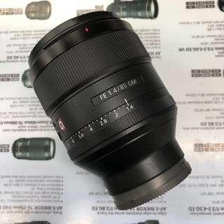 Sony FE 85mm F1.4 G Master (with Warranty)