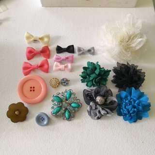 🚚 Bundle of Hijab Brooches