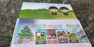 Vintage Malaysia festival art siri 2 2012 stamps POS
