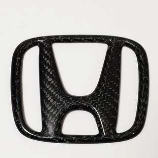 Emblem Carbon Honda Civic City Jazz Crz Hrv Brv Crv
