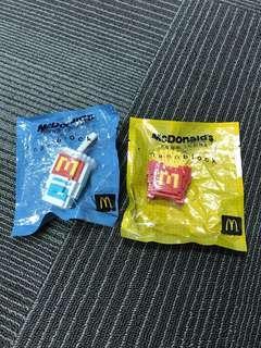 🚚 McDonald's nano block