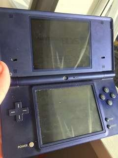 DSi Blue Steel (JAPANESE) (comes with a bulk of games)