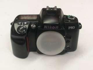 nikon f60 body only 35mm film slr