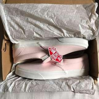 Authentic Vans Pink Classic Slip-On
