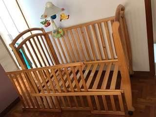 VERMONT by BONBEBE 4-IN-1 COT BED