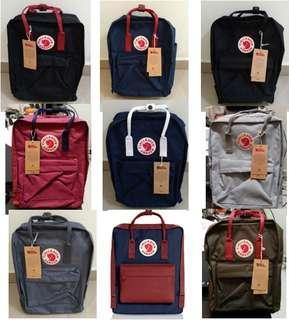 Kanken School Bag Classic size travel bag Fjallraven kanken brand new in packaging